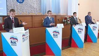 В Саранске прошли дебаты участников предварительного голосования партии «Единая Россия»