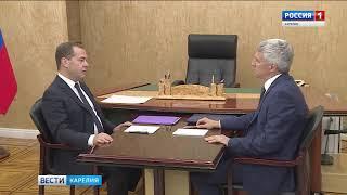 Премьер-министр РФ и Глава Карелии обсудили проблемы ЛПК