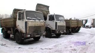 Приставы за долги арестовали восемь грузовиков