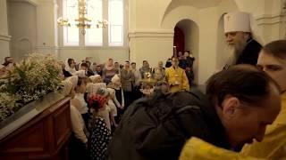 Ученики воскресной школы спели песню митрополиту Вениамину