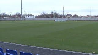 Футбольные ворота привезли на тренировочную базу в Анапе