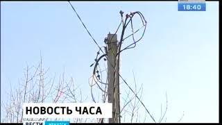 Почти во всех районах области восстановили электроснабжение после урагана