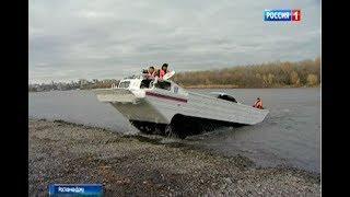 Чем вывозят машины с отрезанного от Ростова Зеленого острова?