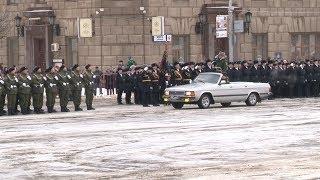 В Волгограде началась генеральная репетиция парада в честь Сталинградской победы