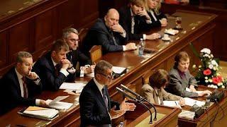Правительство Чехии выдержало вотум недоверия