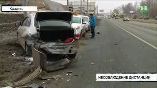 Водитель автомобиля Дэу Джентра на высокой скорости въехал в Ниссан - ТНВ