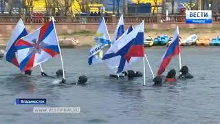 Заплыв в честь Дня Победы прошел во Владивостоке