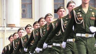 Первый за 101 год парад российских гвардейцев в Санкт-Петербурге. ФАН-ТВ