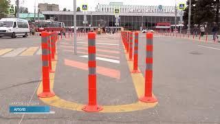 На Привокзальной площади изменится расположение остановок общественного транспорта. Подробности