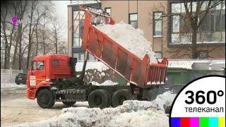 Снегоплавильные станции работают в усиленном режиме