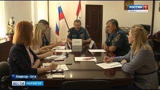 Спасатели обсудили с журналистами проблемы обеспечения безопасности в летний период