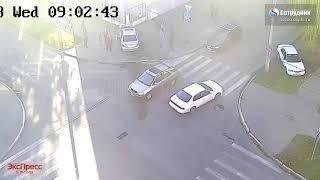 ДТП Бийск на перекрестке ул  В.  Интернационалистов - 8 Марта 19.09.2018