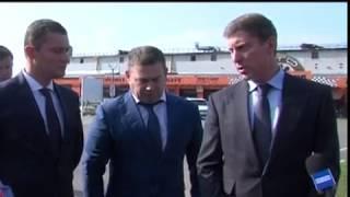 Дмитрий Степаненко проверил ход ремонтных работ на проспекте Авиаторов