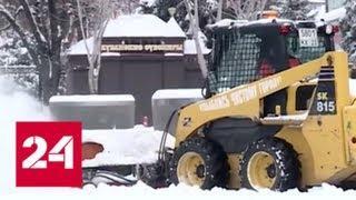 """""""Погода 24"""": снежные рекорды в конце зимы - Россия 24"""