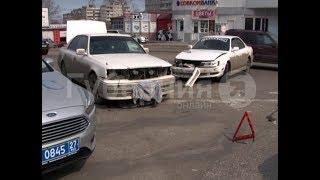 Водитель «Крауна» может лишиться прав за оставление места ДТП в Хабаровске. MestoproTV