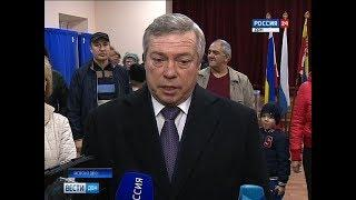 Выборы-2018: как голосовали первые лица Ростовской области