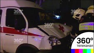 Крупное ДТП с участием скорой помощи произошло на востоке Москвы
