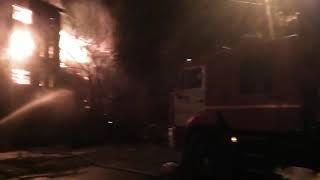 На Орджоникидзе горит многоэтажка