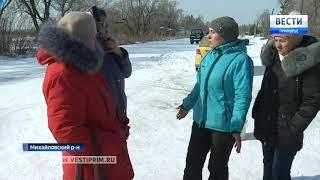 Не поделили маршруты: Жители Михайловского района оказались в транспортной блокаде