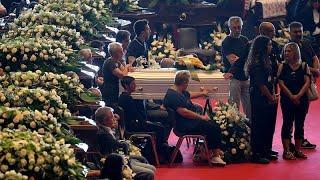 Завершились официальные похоронные мероприятия в Генуе …