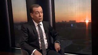 О санкциях, пенсиях и ЕС: интервью Дмитрия Медведева