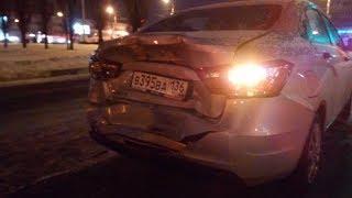 CNеGинка #3. ДТП ЛАДА VESTA CNG. Как пьяный урод разбил мою машину! P.S. Баллон не взорвался!