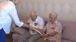 Ветеранам презентовали фотокнигу о строительстве «Волгоград Арены»
