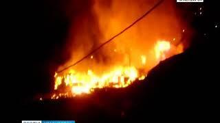 В Николаевке сгорели два дома