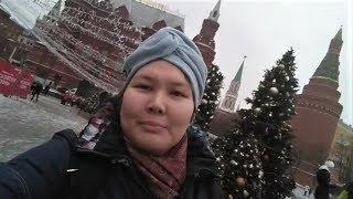 Югорские волонтёры передали привет землякам с Красной площади