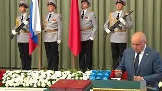 Церемония инаугурации избранного губернатора Кузбасса 1
