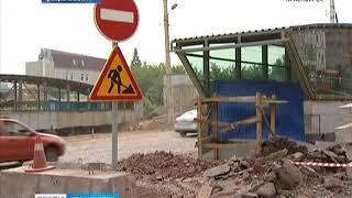 Открытие пешеходного перехода на улице Киренского в Красноярске откладывается до осени