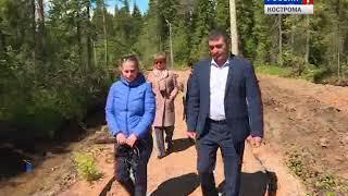 Шарьинские  власти направили подрядчику претензию по благоустройству городского парка