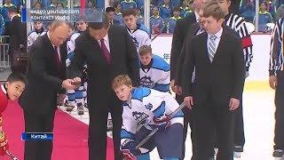 Юные хоккеисты из Башкирии, чей матч в Китае посетил Владимир Путин, вернулись на родину