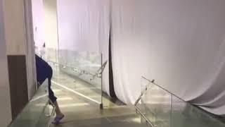 """В ТЦ """"Космос"""" сработала система пожаротушения"""