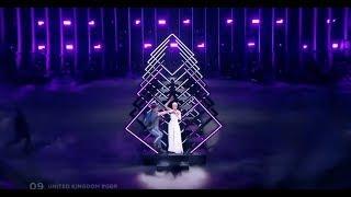 ЕВРОВИДЕНИЕ 2018!!! ФАНАТ СОРВАЛ ВЫСТУПЛЕНИЕ ПЕВИЦЫ ИЗ ВЕЛИКОБРИТАНИИ!!!