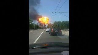 Болонья: взрыв, пожар, пробки