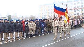 Ставропольских школьников во Всероссийский день призывника приняли в Юнармейцы.