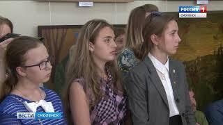 В Смоленском доме художника открылась патриотическая выставка