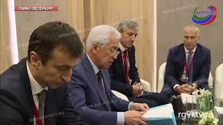 На ПМЭФ-2018 обсудили возможность открытия филиала МСП Банка в Дагестане