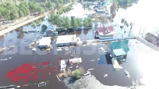 В Чагодощенском районе из-за паводка введён режим ЧС