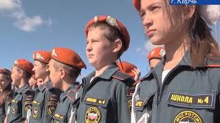 Штат крымских кадет МЧС пополнился