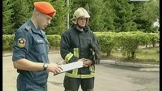 Пожарный кроссфит Репортаж