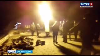 На месте трагедии в Иглинском районе продолжают работать спасатели