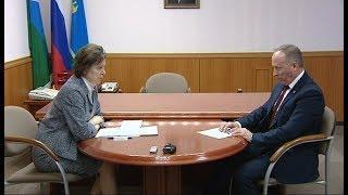 Губернатор Югры и глава Лангепаса обсудили модернизацию объектов жизнеобеспечения города