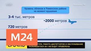 Ан-148 провел в воздухе чуть более двух минут - Москва 24
