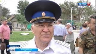 В Трусовском районе Астрахани торжественно открыли памятник Дзержинскому