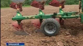 В Любиме прошел региональный конкурс трактористов