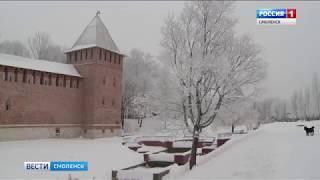 Смоленский регион остается в зоне зимней аномалии