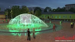 Новосибирцы для Центрального парка выбрали фонтан с лебедями и колоколами