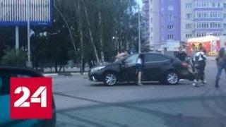 Рязанский мотоциклист чудом выжил в страшном ДТП - Россия 24